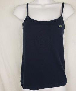 Lacoste Women's Blue Tank Top Size 38 Measurement